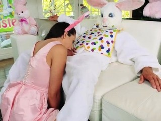 Teen hardcore big dick squirt and foot sex Uncle Fuck Bunny